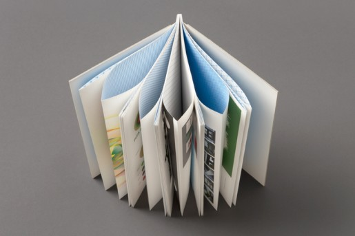 how to make indesgn print as folded booklet