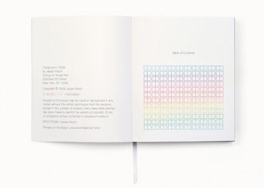 Color Spectrum book JJaakk TOC